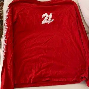 21 Savage Red Long-Sleeve
